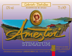 Ameztoi Stimatum label