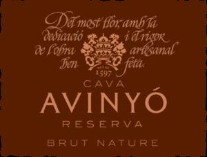 Avinyó Reserva Brut Nature label