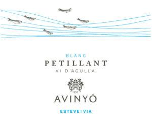 Avinyó Petillant label