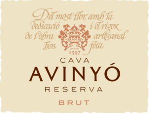 Avinyo Reserva Brut label