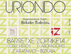 Uriondo label