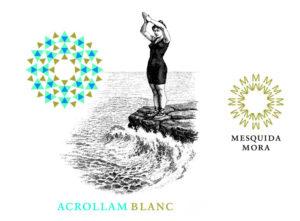 Acrollam Blanc label