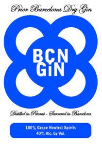 BCN GiN label