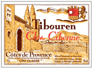 Clos Cibonne Tradition