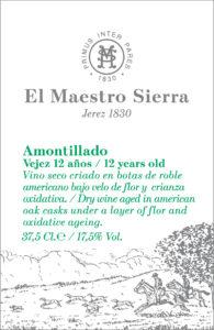 El Maestro Sierra Amontillado