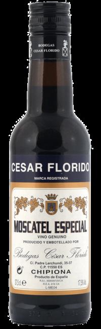 Moscatel Especial bottle