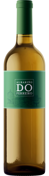 Do Ferreiro Albariño bottle