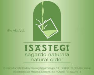 Isastegi Sagardo Naturala