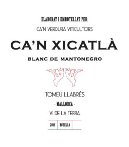 Ca'n Xicatla Label